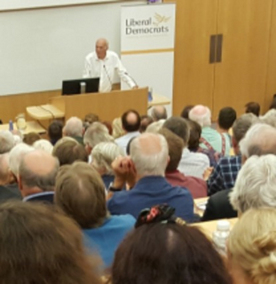 Vince Cable Speaking Cambs