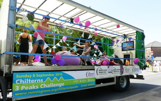 Rennie Grove Float at Tring Carnival 2019