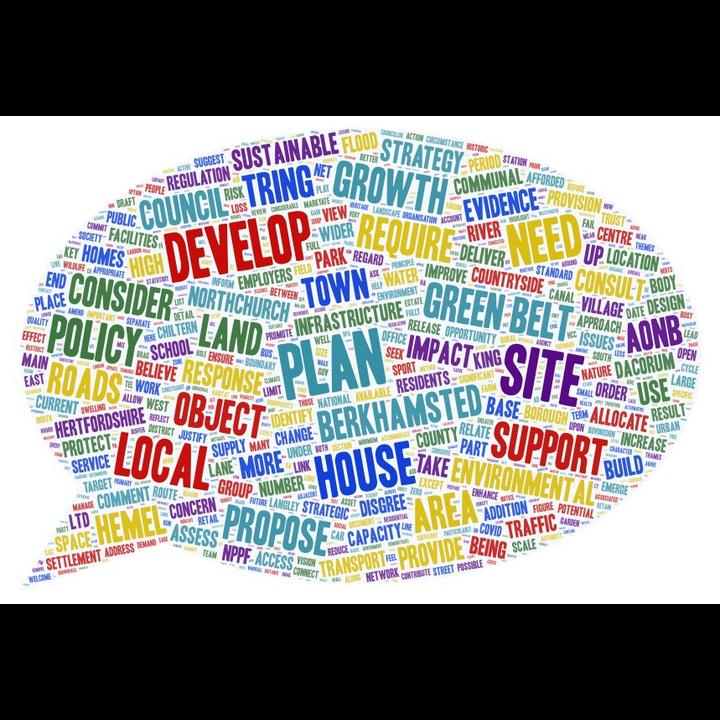 Local Plan Word Cloud