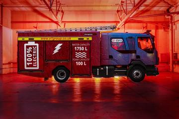 Electric Fire Engine (e1Group, Cumnock, Scotland)